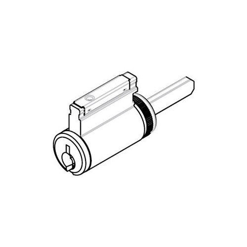 CR2000-033-L1-606 Corbin Russwin Conventional Key in Lever Cylinder in Satin Brass