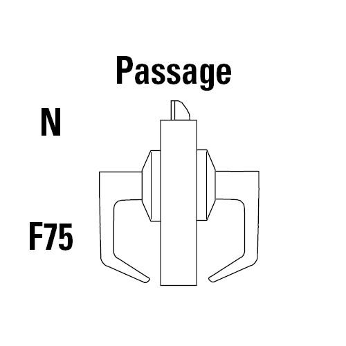 9K30N14LSTK626 Best 9K Series Passage Heavy Duty Cylindrical Lever Locks in Satin Chrome
