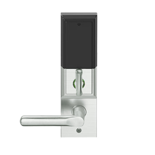 LEMD-ADD-P-18-619 Schlage Privacy/Apartment Wireless Addison Mortise Deadbolt Lock with LED and 18 Lever in Satin Nickel