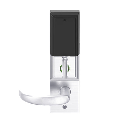 LEMD-ADD-J-17-625 Schlage Privacy/Apartment Wireless Addison Mortise Deadbolt Lock with LED and Sparta Lever Prepped for FSIC in Bright Chrome