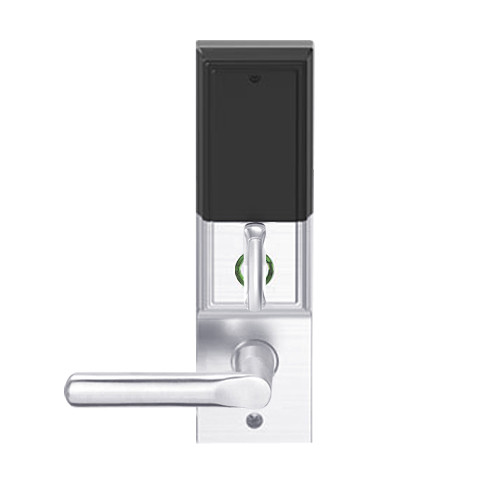 LEMD-ADD-J-18-625 Schlage Privacy/Apartment Wireless Addison Mortise Deadbolt Lock with LED and 18 Lever Prepped for FSIC in Bright Chrome