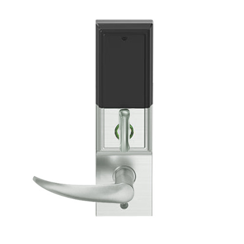 LEMD-ADD-J-OME-619 Schlage Privacy/Apartment Wireless Addison Mortise Deadbolt Lock with LED and Omega Lever Prepped for FSIC in Satin Nickel