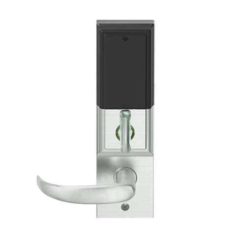 LEMD-ADD-BD-17-619 Schlage Privacy/Apartment Wireless Addison Mortise Deadbolt Lock with LED and Sparta Lever Prepped for SFIC in Satin Nickel