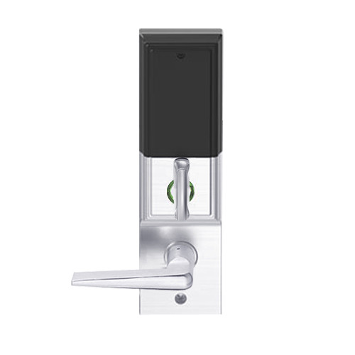 LEMD-ADD-BD-05-625 Schlage Privacy/Apartment Wireless Addison Mortise Deadbolt Lock with LED and 05 Lever Prepped for SFIC in Bright Chrome
