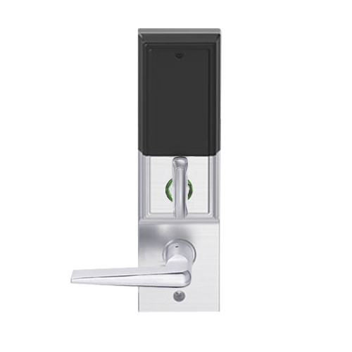 LEMD-ADD-BD-05-626AM Schlage Privacy/Apartment Wireless Addison Mortise Deadbolt Lock with LED and 05 Lever Prepped for SFIC in Satin Chrome Antimicrobial