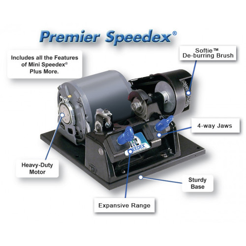 9160MC HPC Premier Speedex Manual Key Duplicator