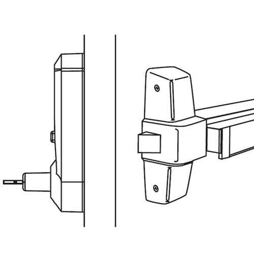 5010XKWL-026-41 Simplex Pushbutton Lever Lock with Kaba key