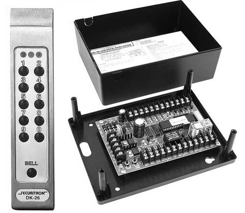 DK-26SS Securitron keypad system