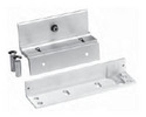 3002TJ32-US28 DynaLock 3000 Series 1500 LBs Double Electromagnetic Lock for Inswing Door in Satin Aluminum