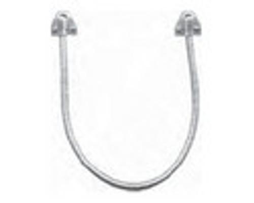 3002TJ32-US4-DSM2 DynaLock 3000 Series 1500 LBs Double Electromagnetic Lock for Inswing Door with DSM in Satin Brass