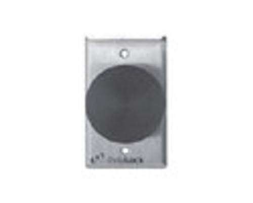 2280-US3 DynaLock 2280 Series Single SlimLine Electromagnetic Lock for Outswing Door in Bright Brass