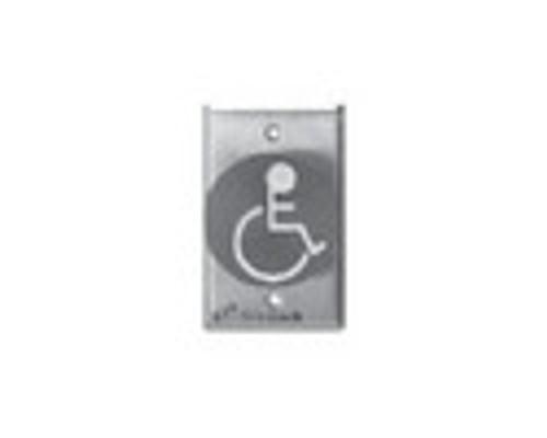 2280-US4 DynaLock 2280 Series Single SlimLine Electromagnetic Lock for Outswing Door in Satin Brass
