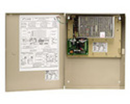 5600-12-FAC-KLC DynaLock Multi Zone Heavy Duty 12 VDC Power Supply with Fire Alarm Module and Key Locked Cover