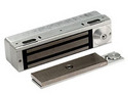 3101C-BMP-US4 DynaLock 3101C Series Delay Egress Electromagnetic Lock for Single Outswing Door with BPM in Satin Brass