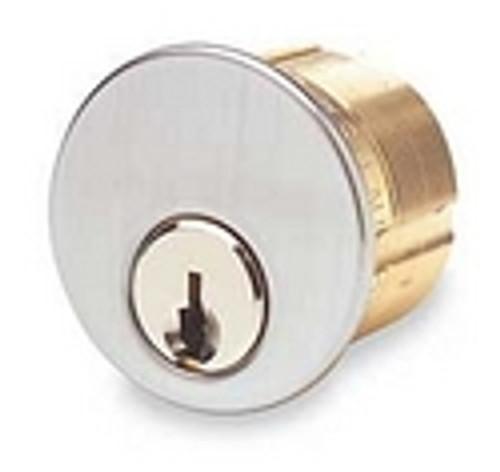 Ilco 7185YA1-KA2 Mortise Cylinder for Yale Cylinder