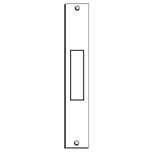 DON JO DEADBOLT STRIKE CONVERSION PLATE DBS-386-PC PRIMER COATED STEEL