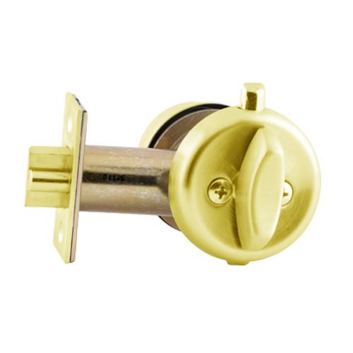 B250PD-605 Schlage B250 Tubular DeadLatch in Bright Brass