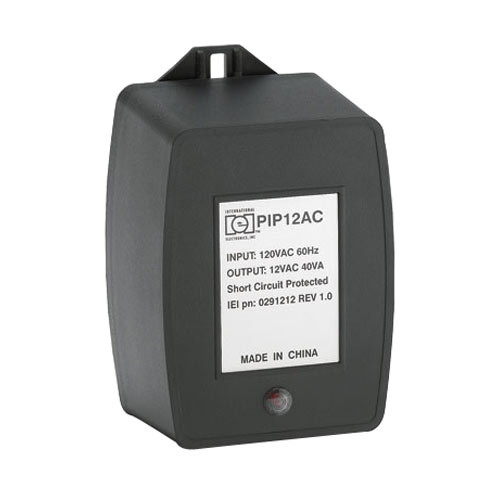 PIP12VAC IEI Plug-In Power Supply