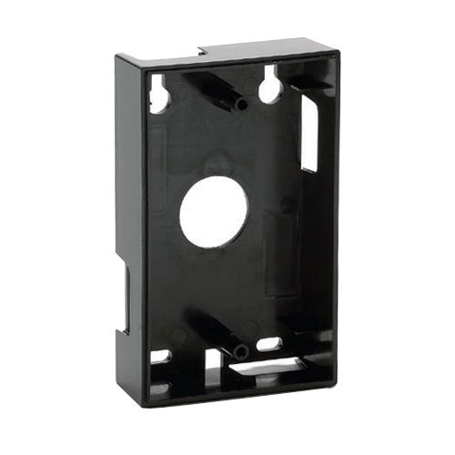 285 IEI Surface-mount Backbox in Black