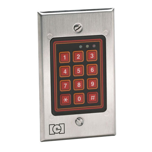 212W IEI Indoor/Outdoor Flush-mount Weather Resistant Keypad