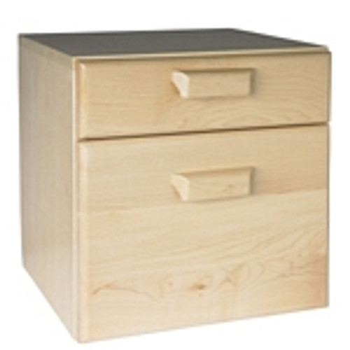 Amsec 1335308 Two Drawer Storage Cabinet