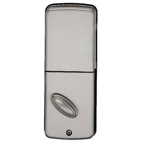 DB500 Satin Nickel Lockstate Keyless Lock with Remote