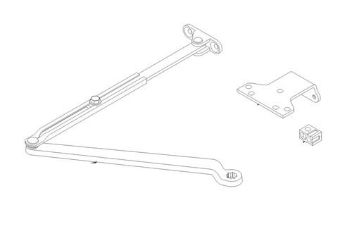 LCN Door Hardware 1461-Rw-PA