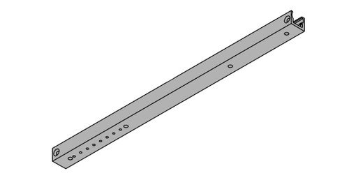 LCN Door Hardware 2031-BUMPER-LH-BLACK