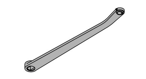 LCN Door Hardware 2035-STD-RH-BRASS