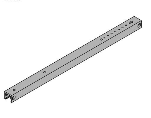 LCN Door Hardware 3131-H-BUMPER-RH-DKBRZ