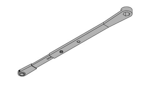 LCN Door Hardware 2614DPS-STD-LH-STAT