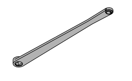 LCN Door Hardware 4021T-STD-RH-US26