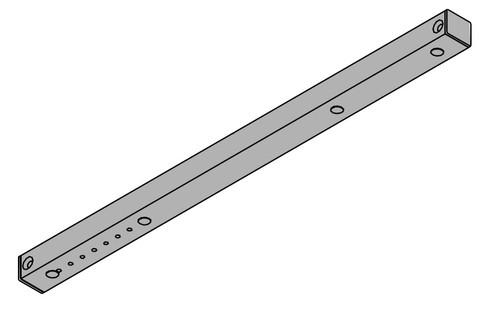 LCN Door Hardware 4023T-BUMPER-LH-LTBRZ