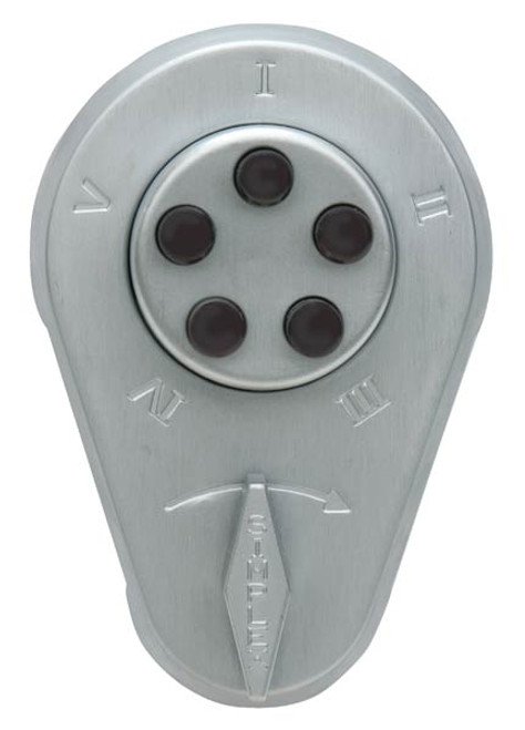 Push button Lock 929-26D