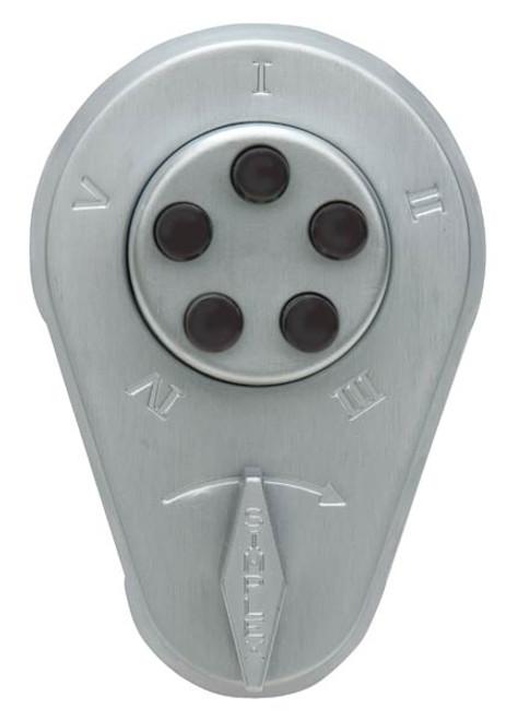Push button Lock 929-26D