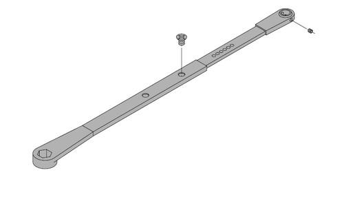 LCN Door Hardware 4040SE-STD-24V-AL