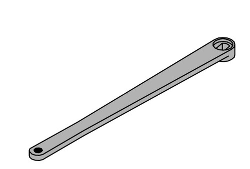 LCN Door Hardware 4514T-STD-RH-AL