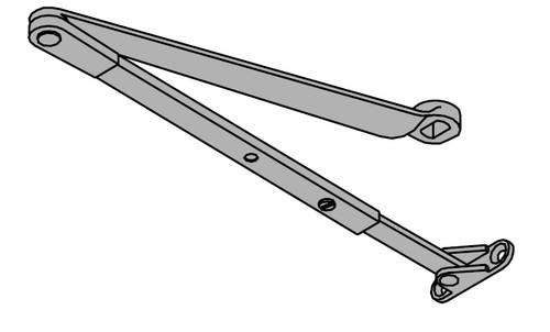 LCN Door Hardware 4412HSA-REG-RH-24V-AC/DC-US26