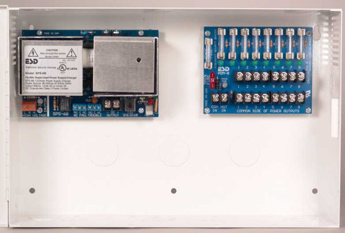 AQD5-4C Securitron AccuPower Switching Power Supply Circuit