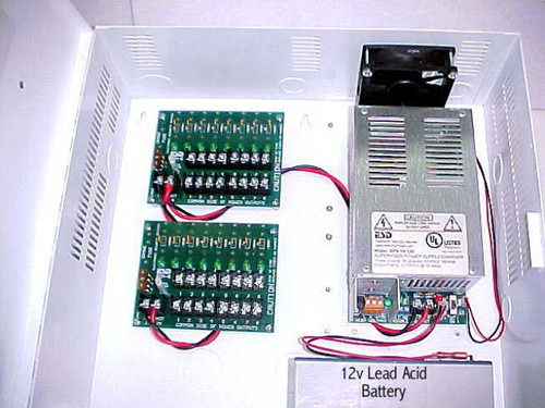 AQU128-8C1R Securitron AccuPower Switching Power Supply Circuit