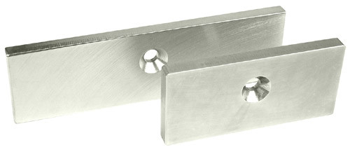 X2 DM62 and M68 Magnalocks Securitron Replacement Armature Offset Strike Plate for M62 Magnalock Electromagnetic Lock
