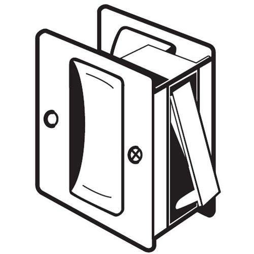 PDL-100-622 Don Jo Passage Pocket Door Lock