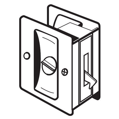 PDL-101-622 Don Jo Privacy Pocket Door Lock