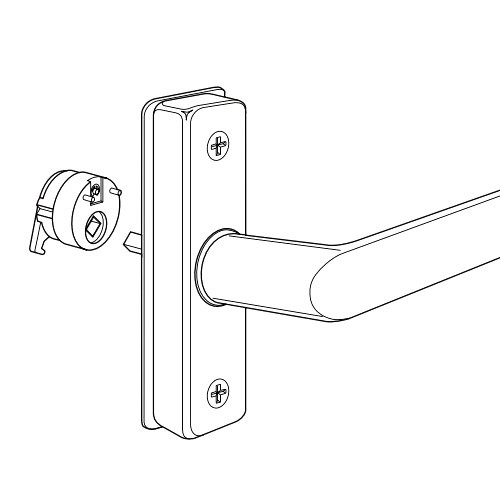 4568-013-121 Adams Rite Deadlatch Handle