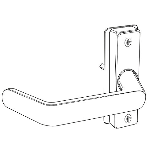 4569-011-121 Adams Rite Deadlatch Handle