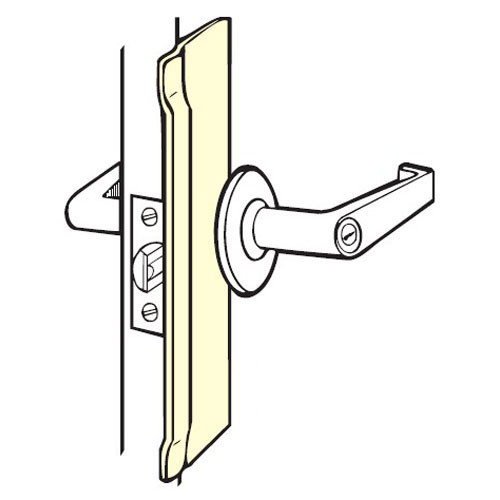 BLP-110-630 Don Jo Latch Protector in Stainless Steel Finish