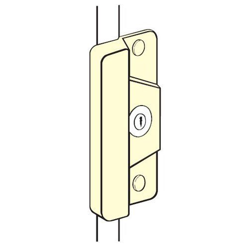 ELP-208-EBF-SL Don Jo Latch Protector for Electric Strikes in Silver Coated Finish