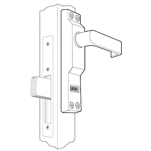 4550R-02-119 Adams Rite MS Deadlock Lever