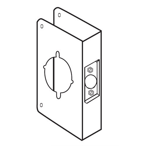 75-10B-CW Don Jo Wrap-Around Plate for installing the Marks Levers