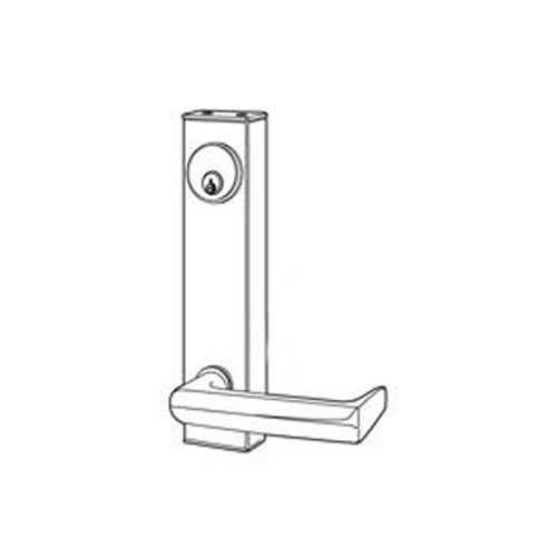 3080-03-0-9U-US10B Adams Rite Standard Entry Trim